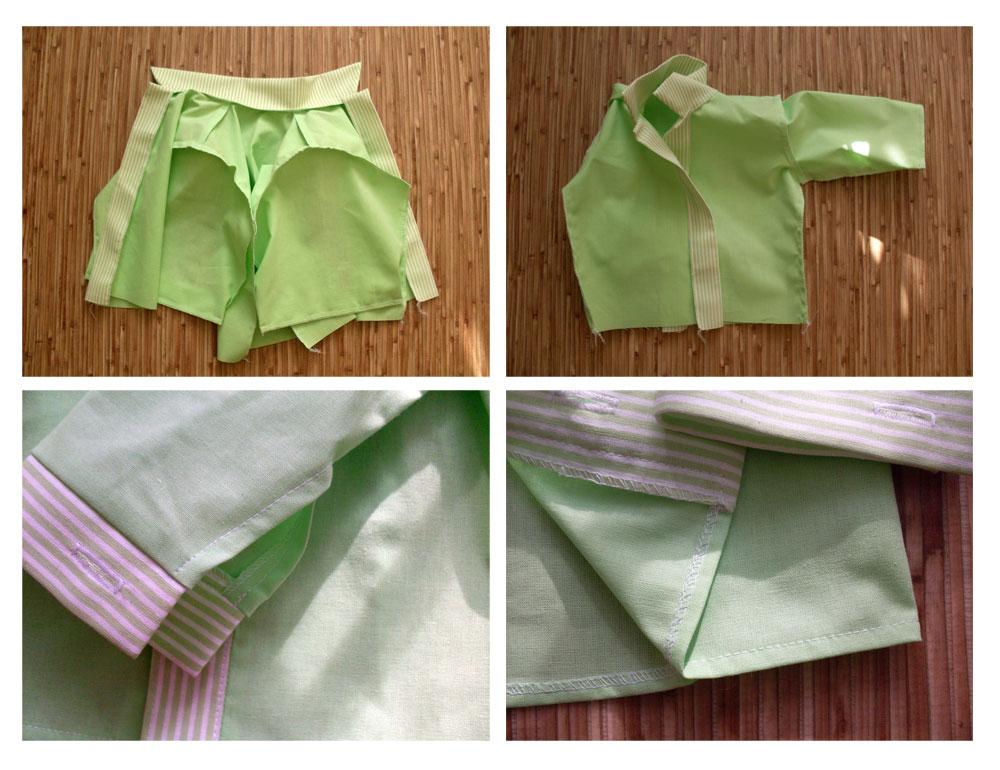 sewing boy shirt