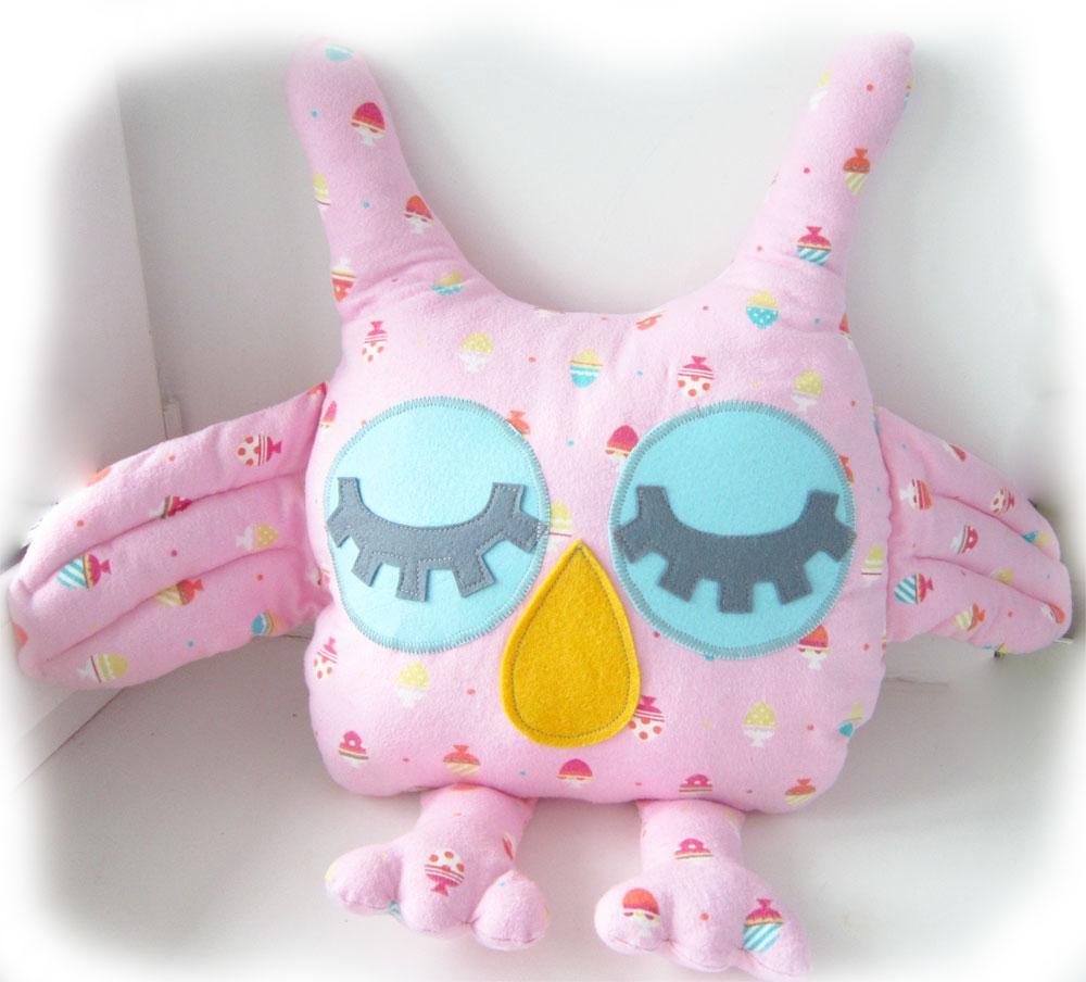 sleepy owl soft toy