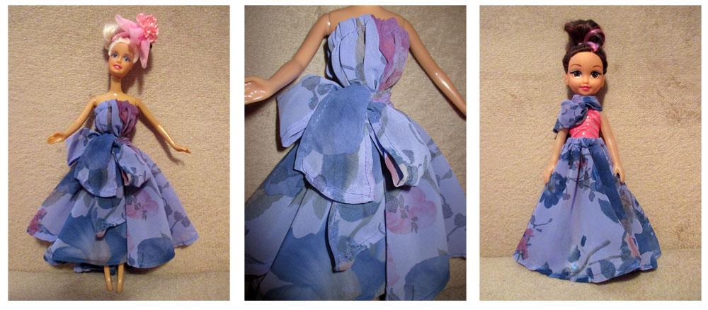 tutorial barbie dress