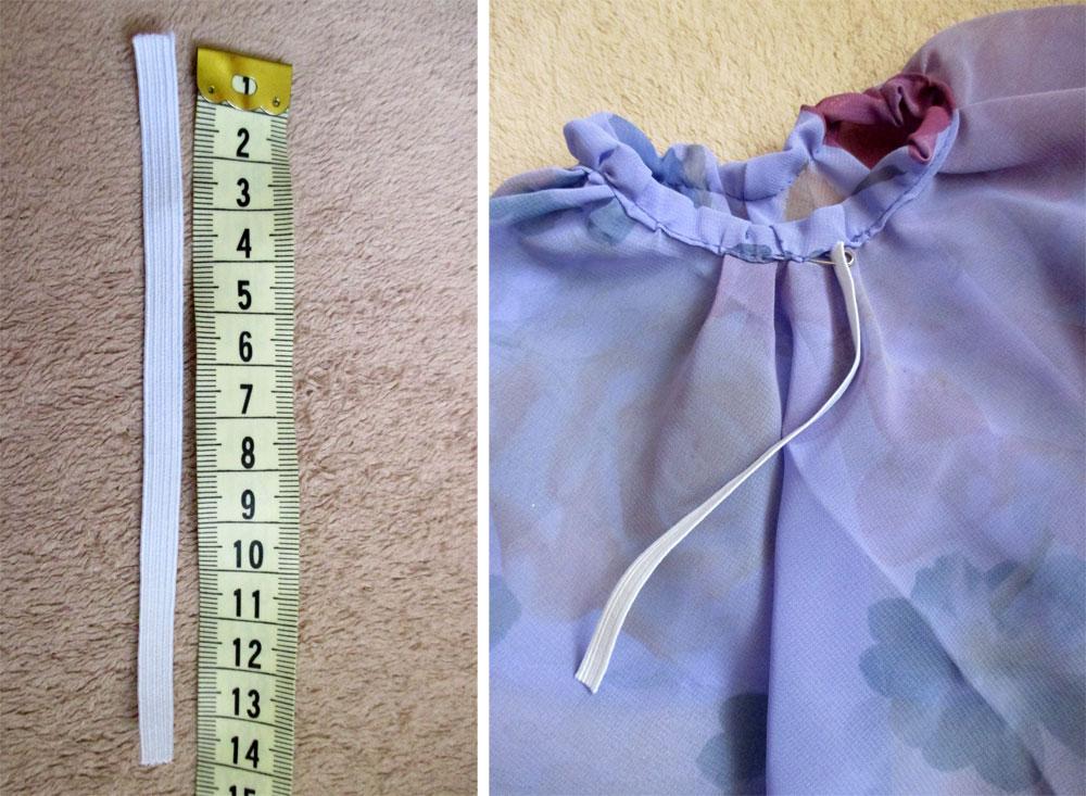 sewing barbie dress